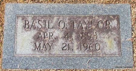 TAYLOR, BASIL O. (CLOSE UP) - Faulkner County, Arkansas | BASIL O. (CLOSE UP) TAYLOR - Arkansas Gravestone Photos