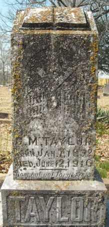 TAYLOR, G.M. - Faulkner County, Arkansas | G.M. TAYLOR - Arkansas Gravestone Photos