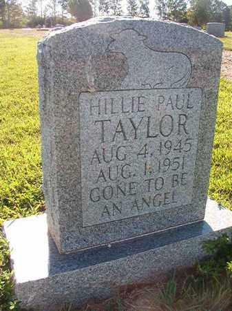 TAYLOR, HILLIE PAUL - Faulkner County, Arkansas | HILLIE PAUL TAYLOR - Arkansas Gravestone Photos