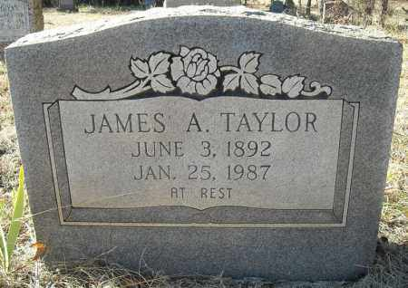 TAYLOR, JAMES A. - Faulkner County, Arkansas | JAMES A. TAYLOR - Arkansas Gravestone Photos