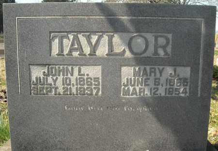 TAYLOR, MARY J. - Faulkner County, Arkansas | MARY J. TAYLOR - Arkansas Gravestone Photos