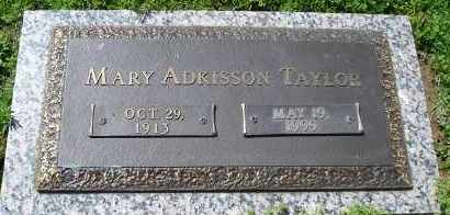 TAYLOR, MARY - Faulkner County, Arkansas | MARY TAYLOR - Arkansas Gravestone Photos