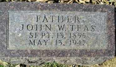 TEAS, JOHN W. - Faulkner County, Arkansas | JOHN W. TEAS - Arkansas Gravestone Photos
