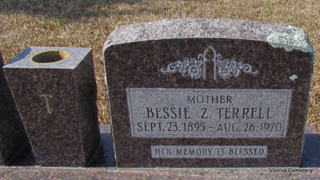 TERRELL, BESSIE Z (CLOSE UP) - Faulkner County, Arkansas | BESSIE Z (CLOSE UP) TERRELL - Arkansas Gravestone Photos