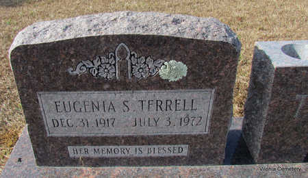 TERRELL, EUGENIA S (CLOSE UP) - Faulkner County, Arkansas | EUGENIA S (CLOSE UP) TERRELL - Arkansas Gravestone Photos