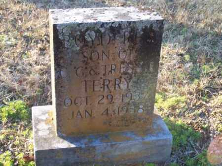 TERRY, BOYD REX - Faulkner County, Arkansas | BOYD REX TERRY - Arkansas Gravestone Photos