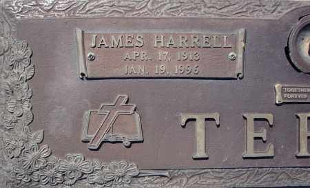 TERRY, JAMES HARRELL  (CLOSE UP) - Faulkner County, Arkansas | JAMES HARRELL  (CLOSE UP) TERRY - Arkansas Gravestone Photos