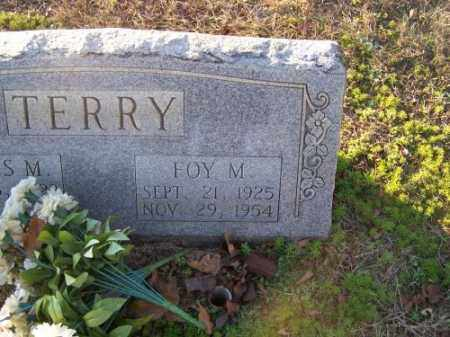 TERRY, FOY M. - Faulkner County, Arkansas | FOY M. TERRY - Arkansas Gravestone Photos
