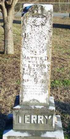 TERRY, HATTIE D. - Faulkner County, Arkansas | HATTIE D. TERRY - Arkansas Gravestone Photos