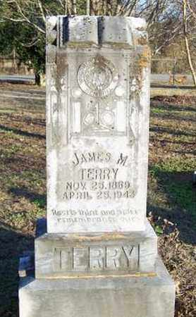TERRY, JAMES M. - Faulkner County, Arkansas | JAMES M. TERRY - Arkansas Gravestone Photos