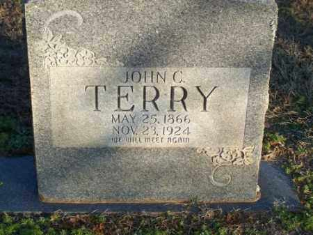 TERRY, JOHN C. - Faulkner County, Arkansas | JOHN C. TERRY - Arkansas Gravestone Photos