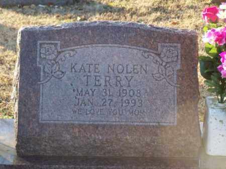 TERRY, KATE NOLEN - Faulkner County, Arkansas | KATE NOLEN TERRY - Arkansas Gravestone Photos