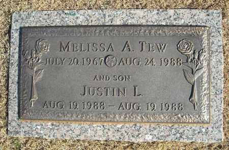 TEW, JUSTIN L. - Faulkner County, Arkansas | JUSTIN L. TEW - Arkansas Gravestone Photos