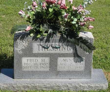 THESSING, MINNIE - Faulkner County, Arkansas | MINNIE THESSING - Arkansas Gravestone Photos