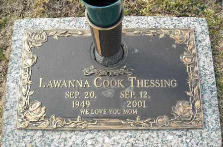 THESSING, LAWANNA - Faulkner County, Arkansas | LAWANNA THESSING - Arkansas Gravestone Photos