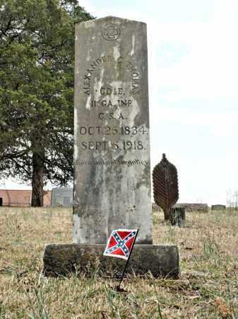 THOMAS  (VETERAN  CSA), ALEXANDER COVINGTON - Faulkner County, Arkansas | ALEXANDER COVINGTON THOMAS  (VETERAN  CSA) - Arkansas Gravestone Photos