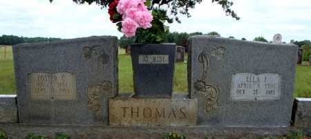 THOMAS, ELLA F. - Faulkner County, Arkansas | ELLA F. THOMAS - Arkansas Gravestone Photos