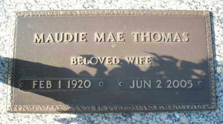 THOMAS, MAUDIE MAE - Faulkner County, Arkansas | MAUDIE MAE THOMAS - Arkansas Gravestone Photos