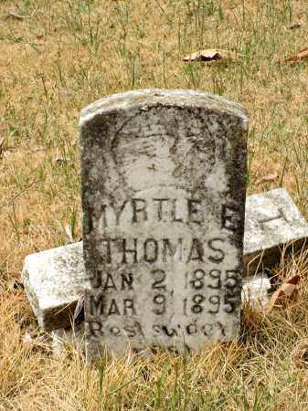 THOMAS, MYRTLE E. - Faulkner County, Arkansas   MYRTLE E. THOMAS - Arkansas Gravestone Photos