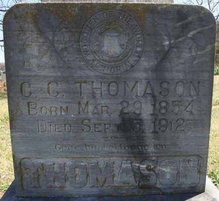 THOMASON, CHRISTOPHER COLUMBUS - Faulkner County, Arkansas | CHRISTOPHER COLUMBUS THOMASON - Arkansas Gravestone Photos