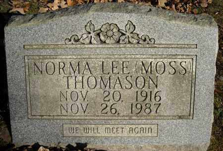 MOSS THOMASON, NORMA LEE - Faulkner County, Arkansas | NORMA LEE MOSS THOMASON - Arkansas Gravestone Photos