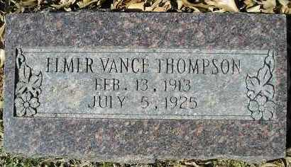 THOMPSON, ELMER VANCE - Faulkner County, Arkansas | ELMER VANCE THOMPSON - Arkansas Gravestone Photos