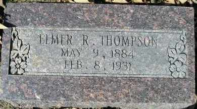 THOMPSON, ELMER R. - Faulkner County, Arkansas | ELMER R. THOMPSON - Arkansas Gravestone Photos
