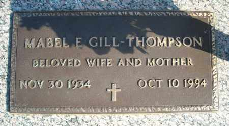 THOMPSON, MABEL E. - Faulkner County, Arkansas | MABEL E. THOMPSON - Arkansas Gravestone Photos