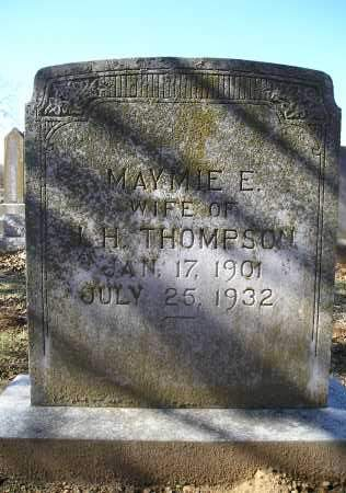 THOMPSON, MAYMIE E. - Faulkner County, Arkansas | MAYMIE E. THOMPSON - Arkansas Gravestone Photos