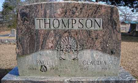 THOMPSON, CLAUDIA - Faulkner County, Arkansas | CLAUDIA THOMPSON - Arkansas Gravestone Photos
