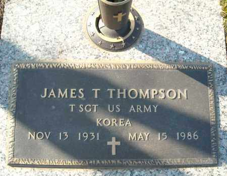THOMPSON (VETERAN KOR), JAMES T - Faulkner County, Arkansas | JAMES T THOMPSON (VETERAN KOR) - Arkansas Gravestone Photos