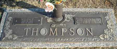 THOMPSON, ODIS E. - Faulkner County, Arkansas | ODIS E. THOMPSON - Arkansas Gravestone Photos