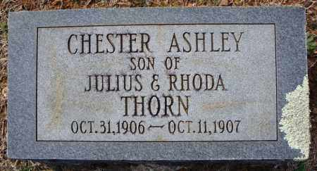 THORN, CHESTER ASHLEY - Faulkner County, Arkansas | CHESTER ASHLEY THORN - Arkansas Gravestone Photos
