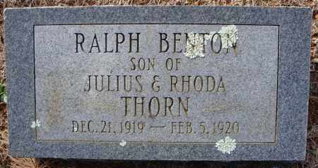 THORN, RALPH BENTON - Faulkner County, Arkansas | RALPH BENTON THORN - Arkansas Gravestone Photos