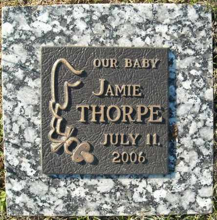 THORPE, JAMIE - Faulkner County, Arkansas | JAMIE THORPE - Arkansas Gravestone Photos