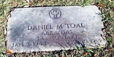 TOAL (VETERAN), DANIEL M - Faulkner County, Arkansas | DANIEL M TOAL (VETERAN) - Arkansas Gravestone Photos