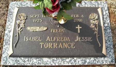 TORRANCE, ISABEL ALFREDA JESSIE - Faulkner County, Arkansas | ISABEL ALFREDA JESSIE TORRANCE - Arkansas Gravestone Photos