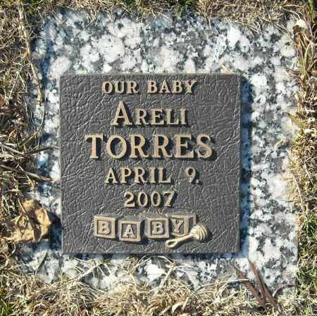 TORRES, ARELI - Faulkner County, Arkansas | ARELI TORRES - Arkansas Gravestone Photos