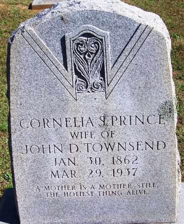 PRINCE TOWNSEND, CORNELIA S. - Faulkner County, Arkansas | CORNELIA S. PRINCE TOWNSEND - Arkansas Gravestone Photos