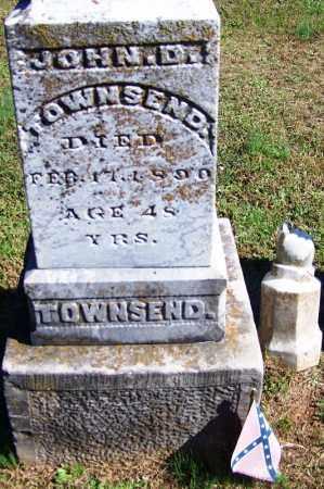 TOWNSEND (VETERAN CSA), JOHN D - Faulkner County, Arkansas | JOHN D TOWNSEND (VETERAN CSA) - Arkansas Gravestone Photos