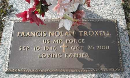 TROXELL (VETERAN), FRANCIS NOLAN - Faulkner County, Arkansas | FRANCIS NOLAN TROXELL (VETERAN) - Arkansas Gravestone Photos
