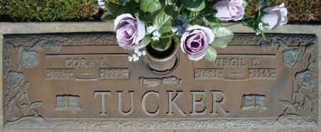 TUCKER, VIRGIL D. - Faulkner County, Arkansas | VIRGIL D. TUCKER - Arkansas Gravestone Photos