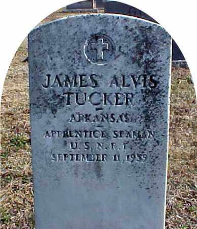 TUCKER  (VETERAN), JAMES ALVIS - Faulkner County, Arkansas | JAMES ALVIS TUCKER  (VETERAN) - Arkansas Gravestone Photos