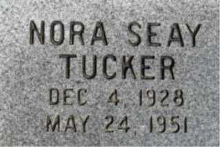 TUCKER, NORA - Faulkner County, Arkansas | NORA TUCKER - Arkansas Gravestone Photos