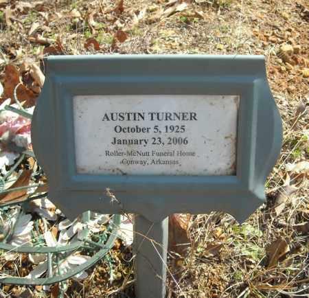 TURNER, AUSTIN - Faulkner County, Arkansas | AUSTIN TURNER - Arkansas Gravestone Photos