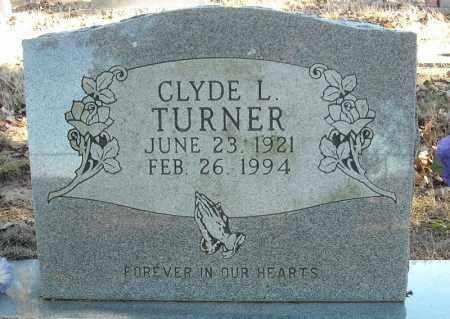 TURNER, CLYDE L. - Faulkner County, Arkansas | CLYDE L. TURNER - Arkansas Gravestone Photos