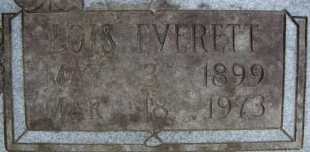 TURNER, LOIS EVERETT  (CLOSE UP) - Faulkner County, Arkansas | LOIS EVERETT  (CLOSE UP) TURNER - Arkansas Gravestone Photos