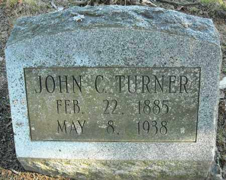 TURNER, JOHN C. - Faulkner County, Arkansas | JOHN C. TURNER - Arkansas Gravestone Photos