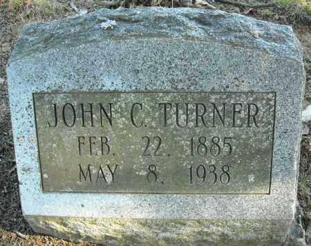 TURNER, JOHN C. - Faulkner County, Arkansas | JOHN C. TURNER - Arkansas Gravestone Photos