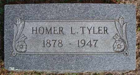 TYLER, HOMER L. - Faulkner County, Arkansas | HOMER L. TYLER - Arkansas Gravestone Photos